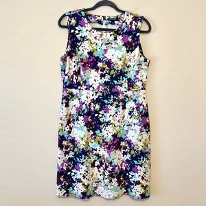 NWOT Lands End Floral Dress